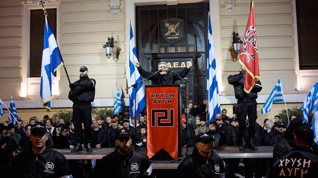 ... Armed Forces Forum: ERT to stop broadcasting Golden Dawn speeches live
