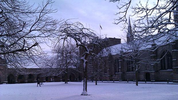 Photos of Aberdeen University taken by Simon Beveridge