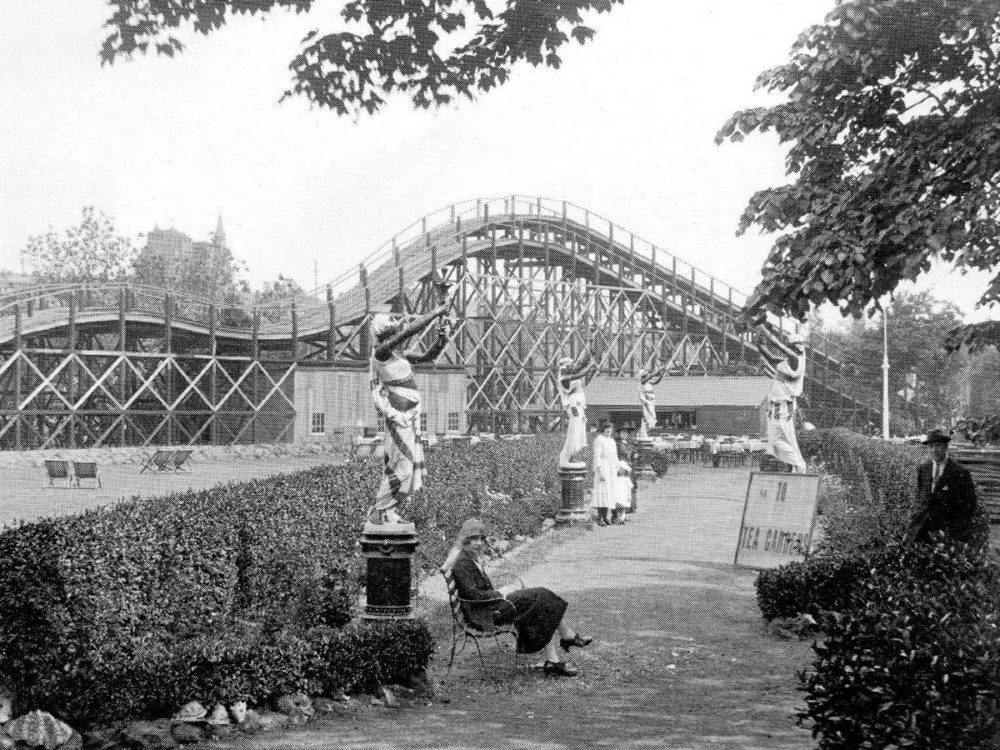 Margate's dreamland: Built in 1920, the scenic railway at Dreamland, Margate is the oldest surviving roller coaster in Britain and the second oldest in Europe, following its restoration after fires in 1949 and 1957. (Copywright: Margate Museum)
