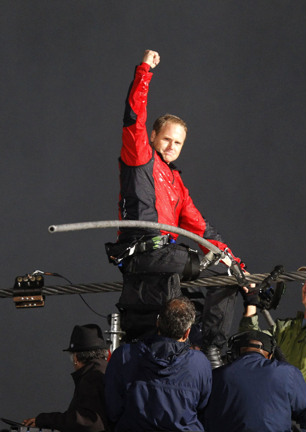 Wallenda campaigned for two years to be allowed to walk across the falls. He now plans to walk over the Grand Canyon. (Reuters)