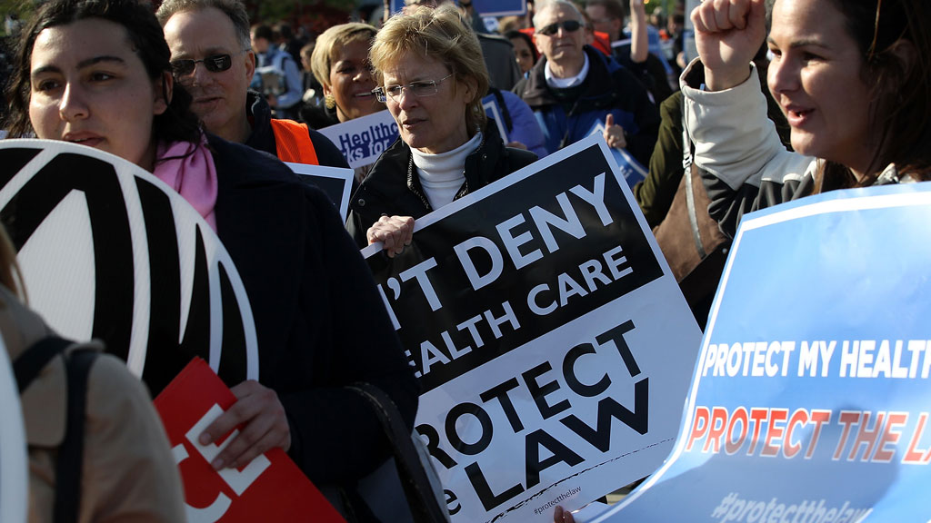 Obama's healthcare law – and his legacy – in the balance ...