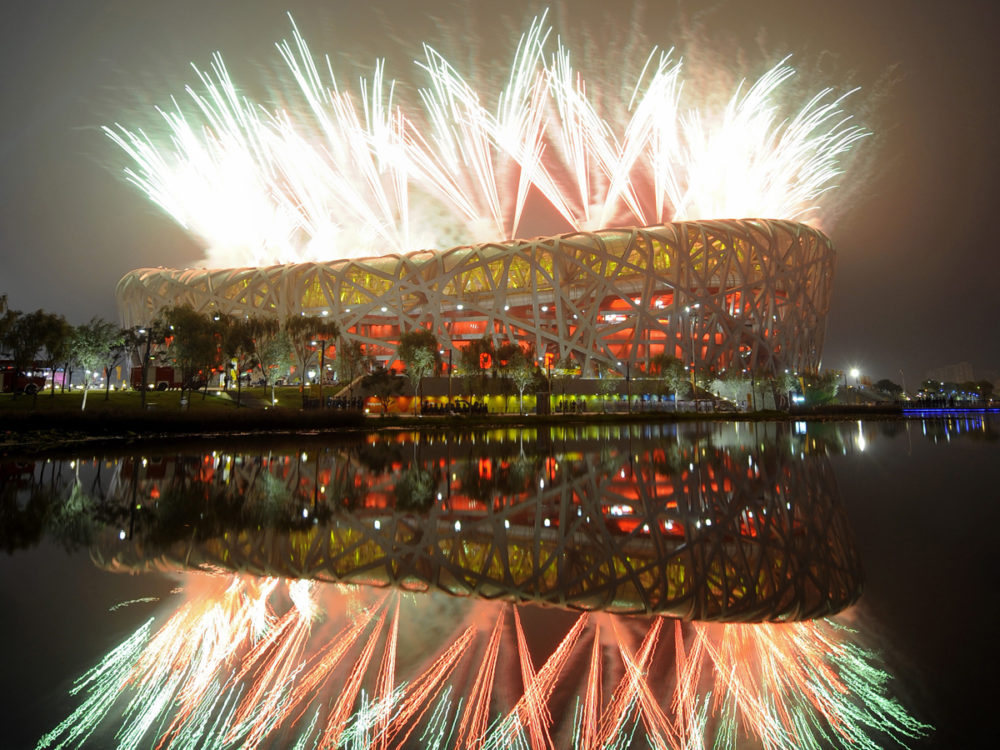 Costing an estimated $100m, the Beijing opening ceremony in 2008 featured an astonishing amount of fireworks, a man running through the air and controversial use of the majority Han Chinese to represent other ethnic groups.