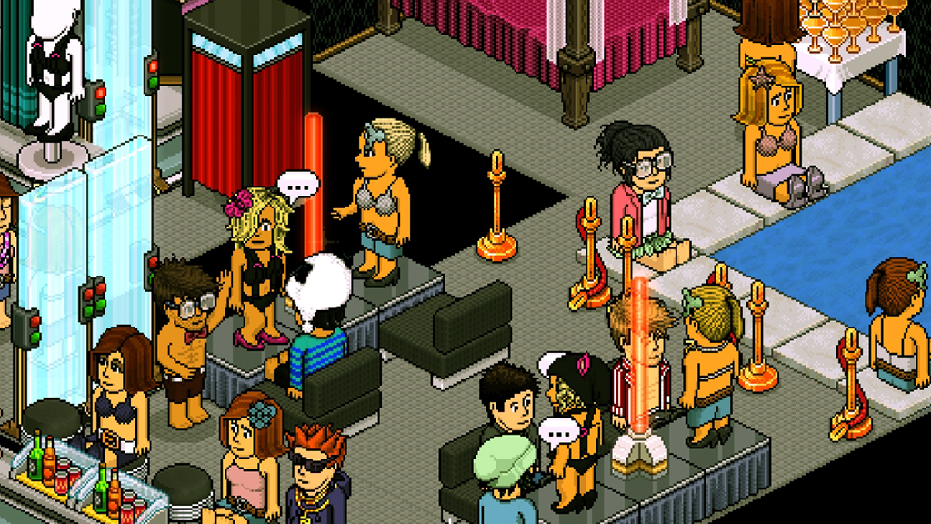 What is happening in Habbo Hotel? – Channel 4 News
