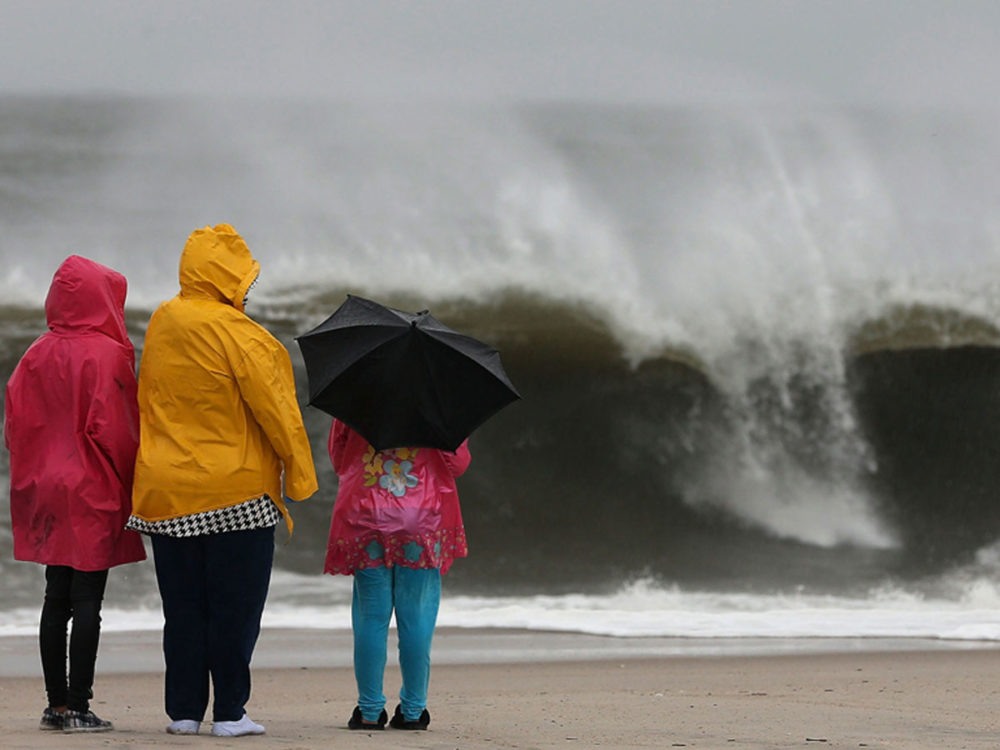 Obama called on Americans to take Hurricane Sandy