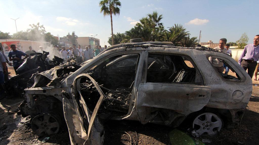 Car bomb attack in Benghazi