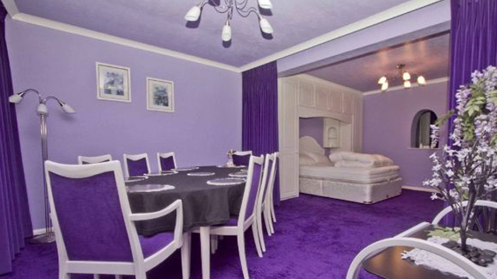 The Colour Purple The House Licked By Cadbury Channel