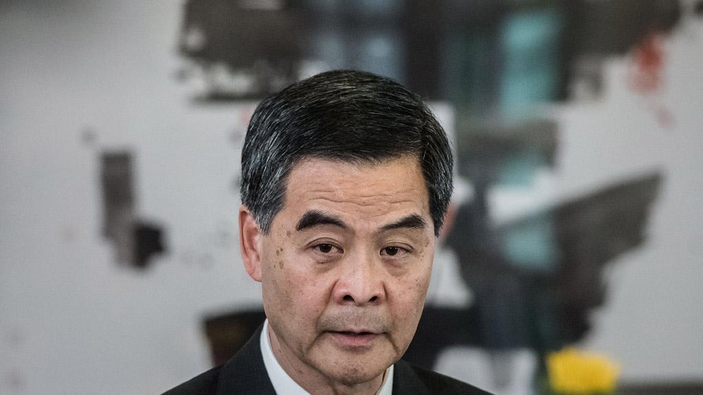 HONG KONG-CHINA-POLITICS-DEMOCRACY-LEUNG