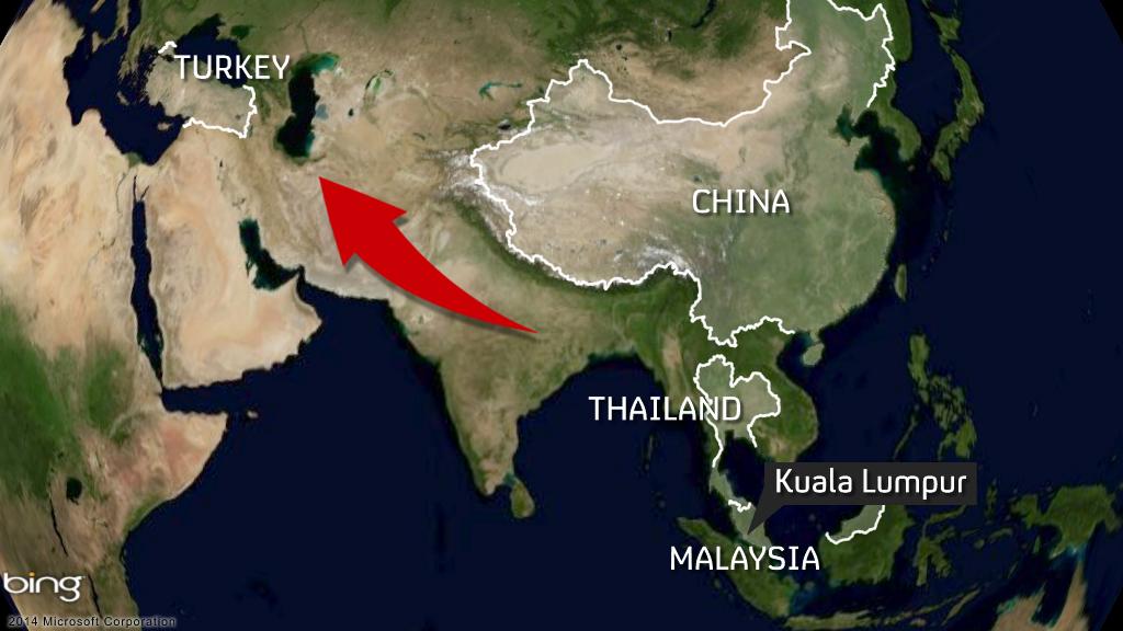 Uighurs map