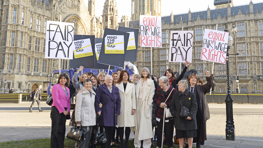 Grazia Celebrates Landmark Parliamentary Vote On Equal Pay