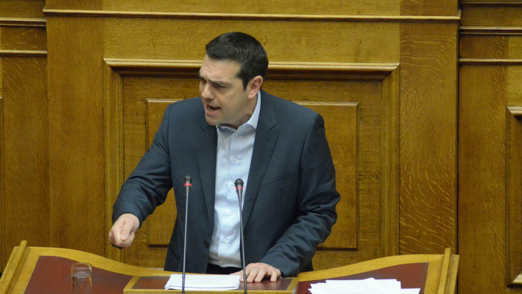 Alexis Tsipras said that he will put an end to the