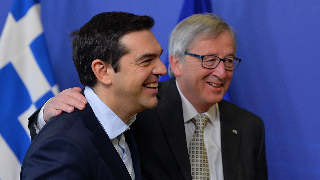 Greek PM Alexis Tsipras in Brussels