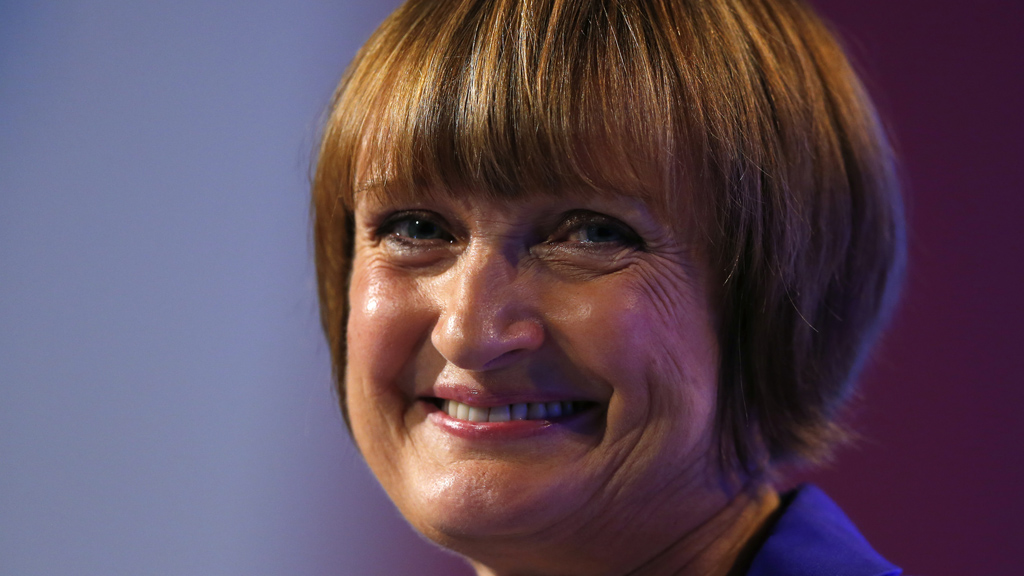 Tessa Jowell, former shadow minister for the Olympic Games, speaks during a segment about the London 2012 Olympic Games at the Labour Party annual conference in Manchester