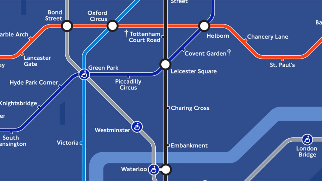 Londons night Tube map unveiled Channel 4 News – London Tube Map Map