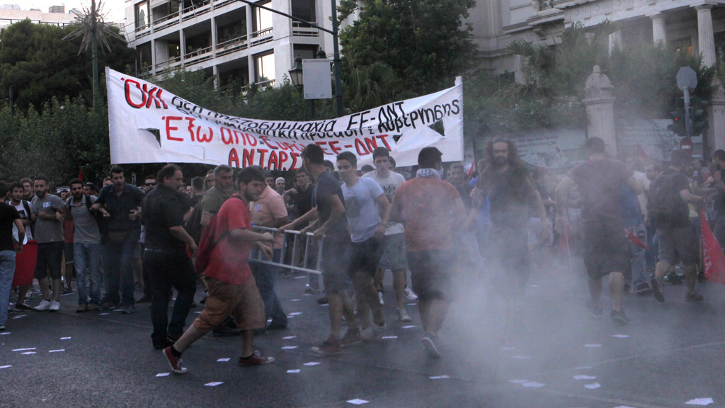 Anti-EU protest in Athens
