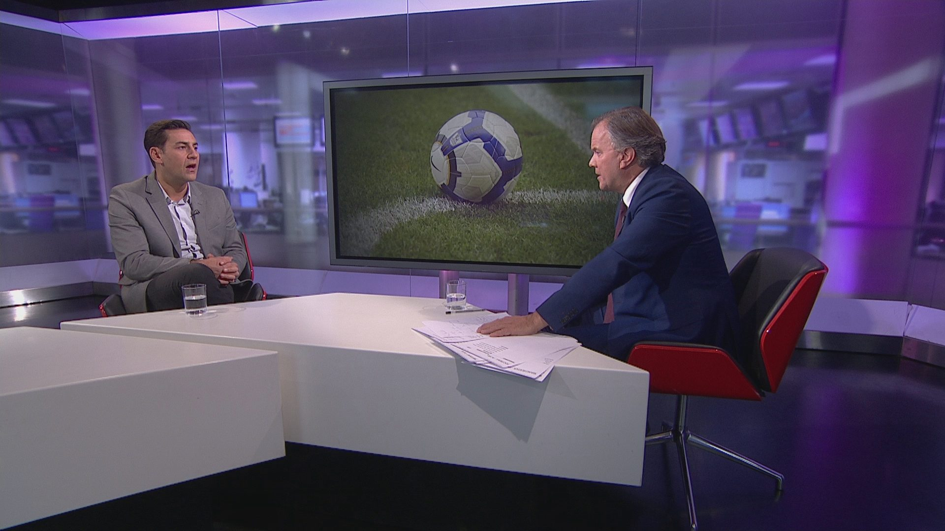 Football abuse: Andy Woodward interview – Channel 4 News
