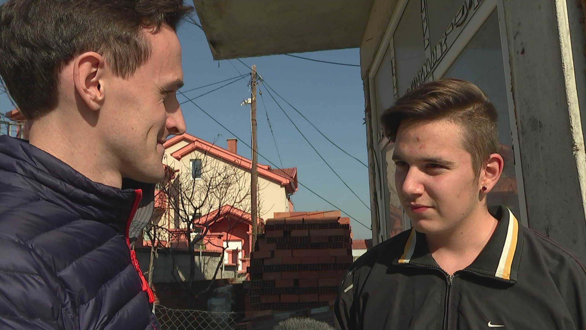 Ciaran Jenkins in Macedonia