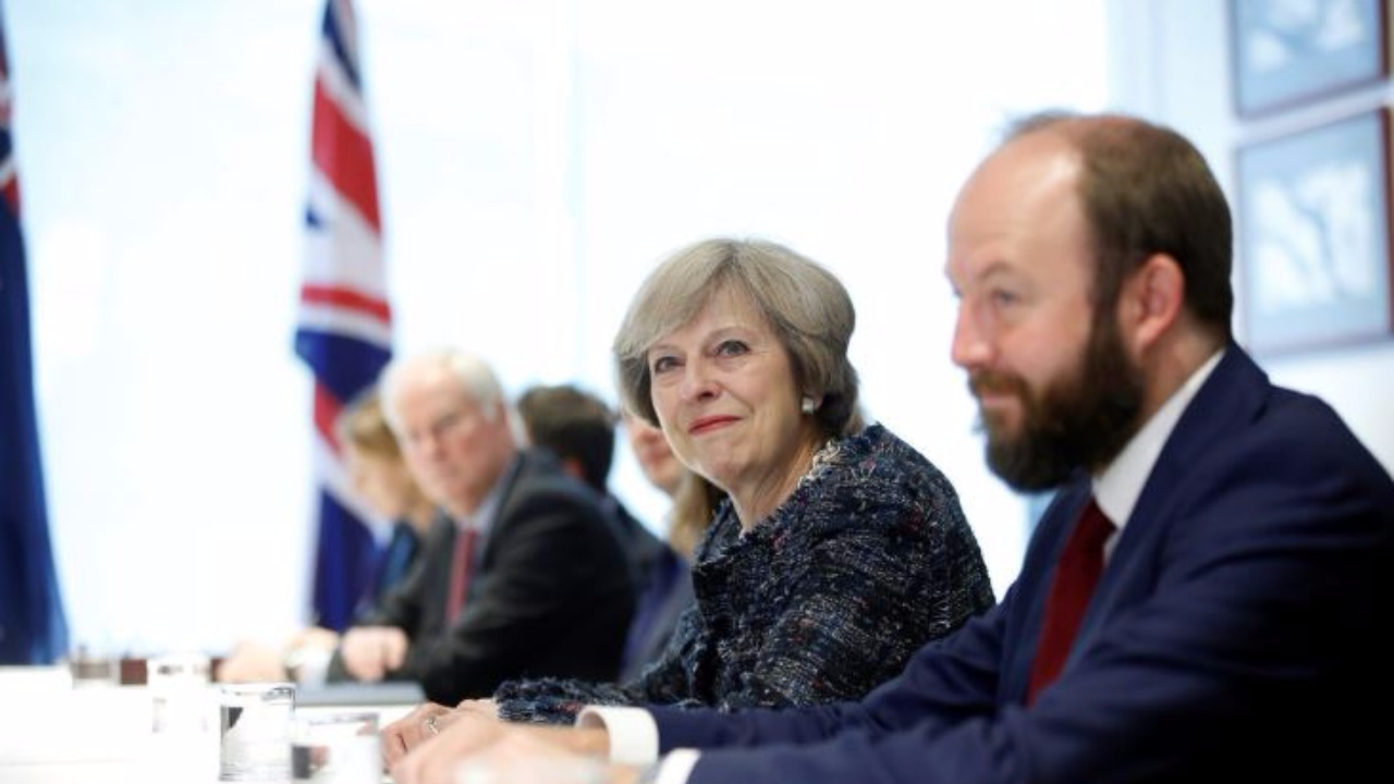 Theresa May and Nick Timothy