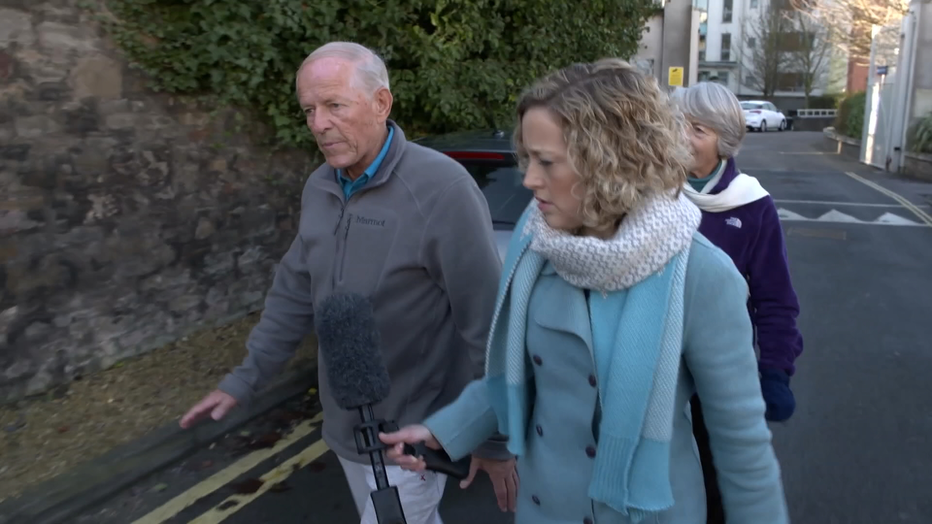 Cathy Newman with John Smyth